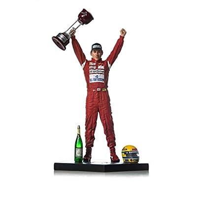 Iron Studios IS1061810 1:10 Ayrton Senna-1988 Japan GP-Art Scale Statue, Multi: Toys & Games