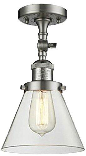 One Light Semi-Flush Mount - Innovations Lighting 201F-SN-G42