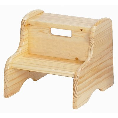 Kid's Step Stool in Natural