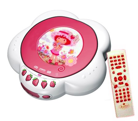 Strawberry Shortcake DVD Player with Remote Control