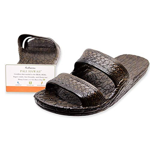 Pali Hawaii Dark Brown JANDAL + Certificate of Authenticity (9)