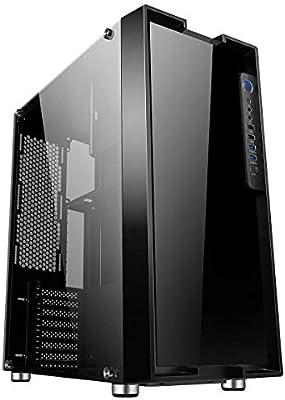 Game Max Fortress - Caja de PC para Juegos, E-ATX, Soporte para 8 ...