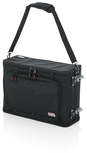 Gator GRRACKBAG2UW Rolling 2 Rack Bag with Removable Handle and Wheels from Gator