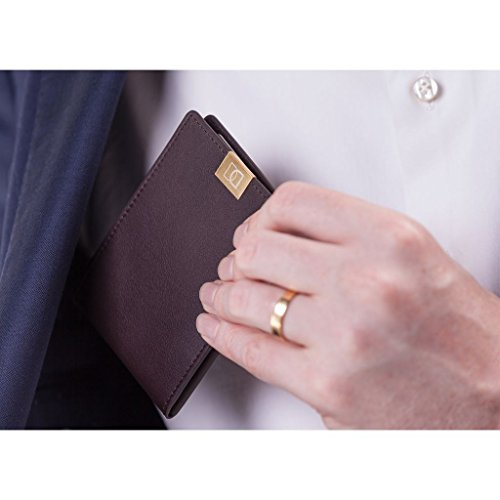 Wallets Fold Gold Bi Bi Wallets Original Brown Leather Leather Wallet DUN Original DUN 7wqtzwxS