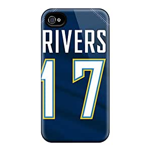 Scratch Protection Hard Phone Cover For Iphone 4/4s (PYf5147iuOK) Provide Private Custom High Resolution San Diego Chargers Pictures