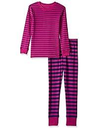 Amazon Essentials Girls' Long-Sleeve Tight-fit 2-Piece Pajama Set
