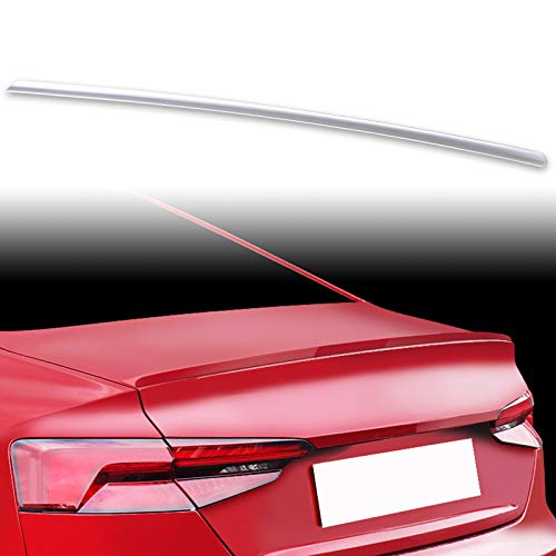FYRALIP Painted Factory Print Code Trunk Lip Wing Spoiler For 2016up Audi A5 B9 2nd Generation Coupe Fast Delivery Easy Installation Perfect Fit - LY9C Ibis White