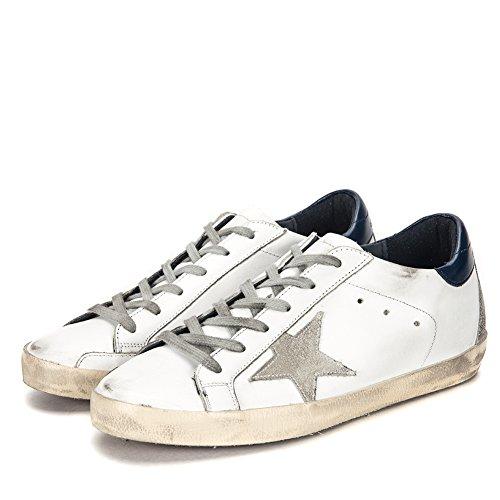 Sneaker Superstar Da Donna Golden Goose Gcows590.a7-17pf Bianco / Blu