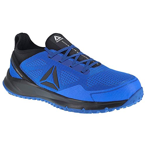 Reebok All Terrain Work Shoe - Men's Trail Running 14 Blue/Black ()