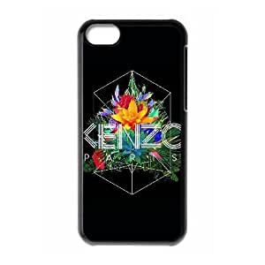 iPhone 5c funda Negro [KHOAOKOFJ4228] CUSTOM KENZO tema iPhone 5c funda