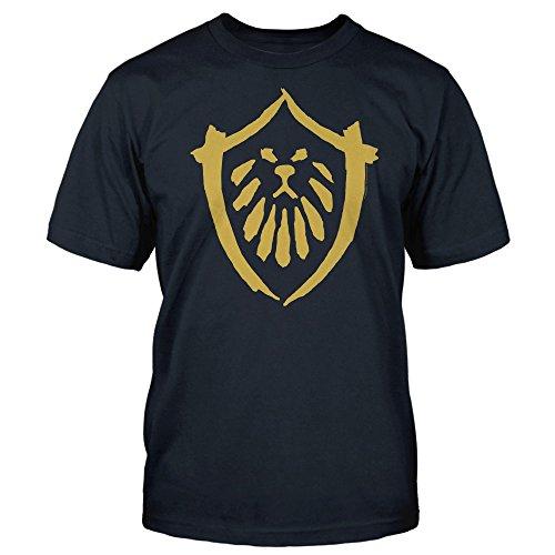 JINX World of Warcraft: Mists of Pandaria Alliance Basic Men's Gamer Tee Shirt