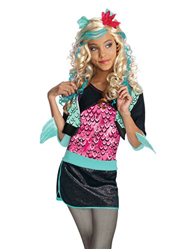 Monster High Lagoona Blue Costume - One Color - -
