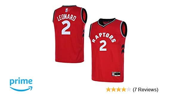 64d4b0c19b0 Amazon.com: Outerstuff Youth Toronto Raptors 8-20 #2 Kawhi Leonard Jersey:  Clothing
