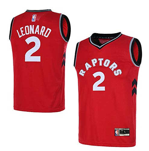 Outerstuff Youth Toronto Raptors 8-20 #2 Kawhi Leonard Jersey (Youth X-Large 18/20, Red)