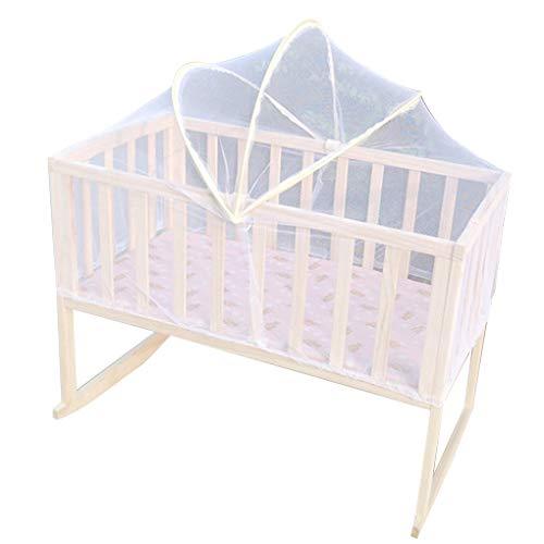 Jiasijieke Universal Baby Kids Cradle Mosquito Net Crib Cot Mesh Canopy Infant Toddler Playpens Bed Tent