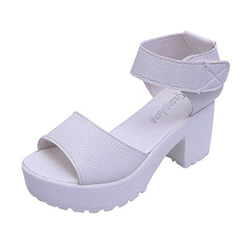 Toe Toe to Plataforma Mujeres Comfortable Alto De wear Tal SKY it Abiertas Peep xf1qRS8nnw