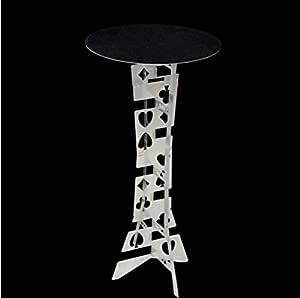 Doowops alluminum Alloy Magic Mesa Plegable Redonda, Color Plateado, la Mejor Mesa de Mago, Truco de Magia, Escenario, ilusiones, Accesorios: Amazon.es: Juguetes y juegos