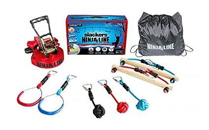 622f149d4 Amazon.com: Slackers 56' Ninjaline Intro Kit: Toys & Games