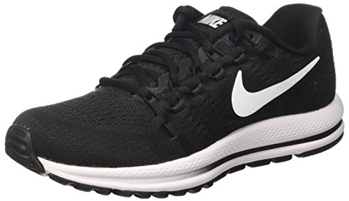 Nike Womens Marathon - NIKE Womens Air Zoom Vomero 12 Running Shoe Black/Anthracite/White 6.5 B(M) US