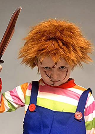 Magic Box Peluca de Jengibre desordenado Estilo Chucky para niños