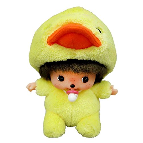 Monchhichi Plush (Sekiguchi Monchhichi Fluffy Animal Babicicci Plush Doll Chick)