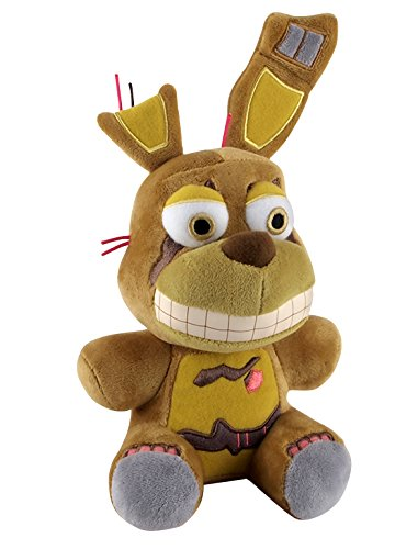 Five Nights at Freddy's Springtrap FNAF Plush, 6″