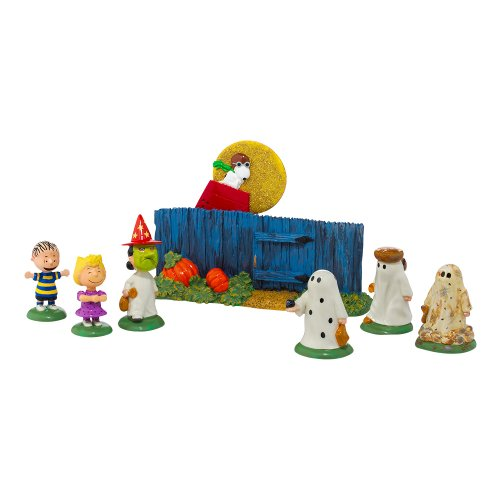Department 56 Peanuts The Great Pumpkin is Coming Figurine -