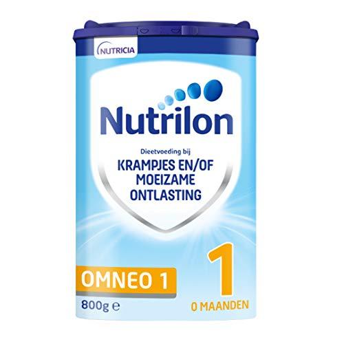 Nutrilon Omneo 1 – vanaf 0 maanden – dieetvoeding bij krampjes en/of moeizame ontlasting – 800 gram – Flesvoeding