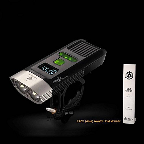 Fenix BC30R USB rechargeable bike light 1600 lumens OLED display screen 5200mah battery by Unknown (Image #4)
