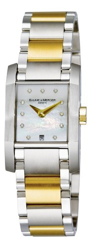 - Baume & Mercier Women's 8738 Diamant Two Tone Watch