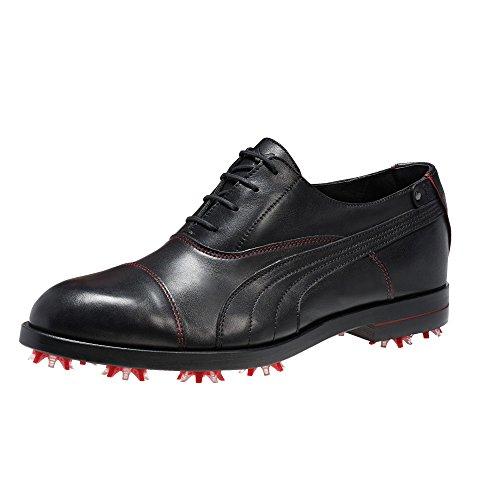 PUMA New Mens SF Lux Limited Ferrari Golf Shoes Black/Red Size 10.5 M - Ret $600
