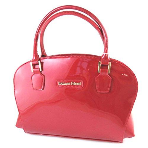 Cm Red Leather Esterel'pulimento Bag 39x24x12 'jacques wwq7XB