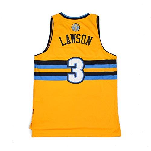 20 Swingman Alternate Jersey (NBA adidas Ty Lawson Denver Nuggets Revolution 30 Swingman Alternate Jersey - Gold (XX-Large))