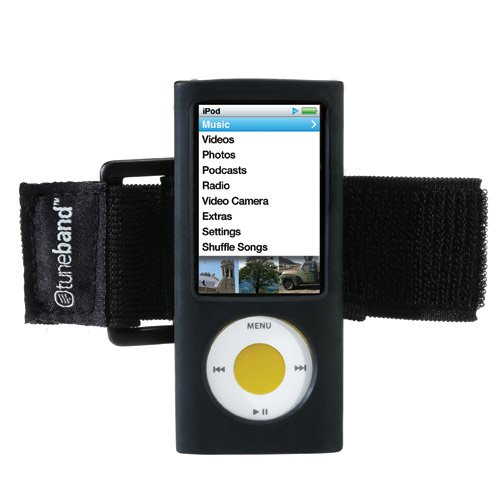 Grantwood Technology TuneBand Armband for iPod Nano 5th Generation - Black