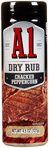 A 1 Cracked Peppercorn Dry Rub, 4.5 ()