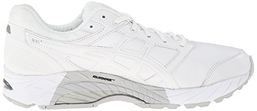 cm Walker or Comfortable 3 White 9 5 27 5 Leather Color Gel Size Mens Asics Foundation Trainers Silver US ZFw44q