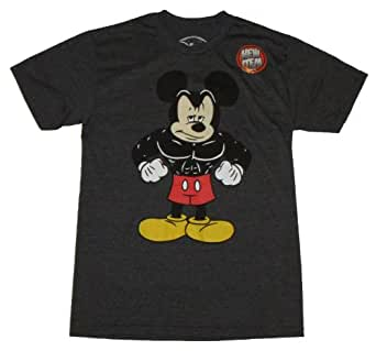 Disney buff muscle mickey mouse licensed for Oversized disney t shirts