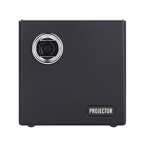 (FINME Mini 2+16G HD Projector Portable Home LED Projector Wireless Screen Projector US (Black))