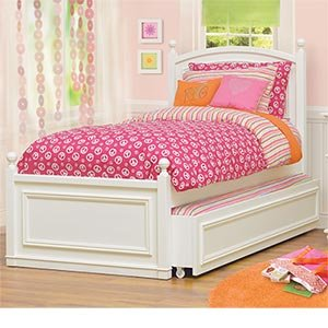 Amazon Com Hailey Twin Trundle Bed Kitchen Amp Dining