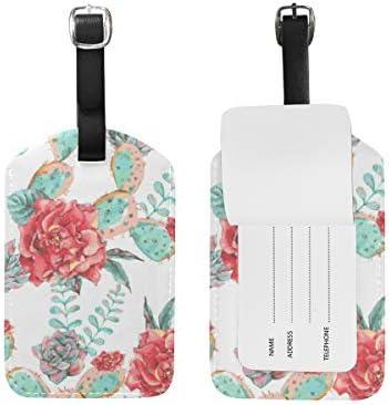 ヴィンテージ咲く花 荷物をトランクラベルリュックサックスーツケース キッズ ジュニアID 旅行用品(2pcs)