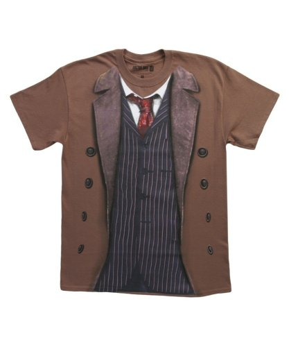 Doctor Who 10th Doctor Costume T-shirt (Medium)