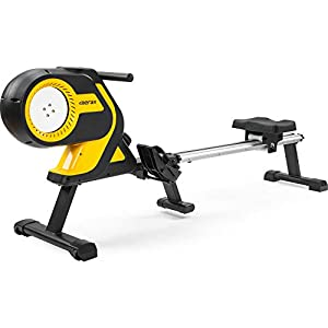 Well-Being-Matters 41PGB8IQwqL._SS300_ Merax Magnetic Folding Rowing Machine Indoor Rower Machine with 46 Inch Slide Rail, Max 330LB Home Cardio
