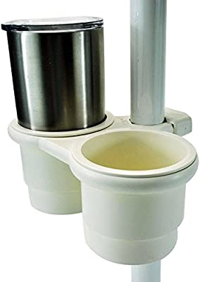 """1//2/"""" Starboard Starboard Double Drink Holder With Storage Box"""