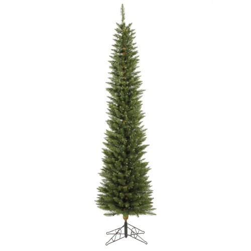 Vickerman 65' Durham Pole Pine Artificial Christmas Tree with 200 Multi-colored LED lights