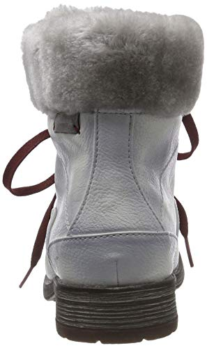Stiefelette 203 Para ice Marfil Botines Mujer Mustang 1dwCPd