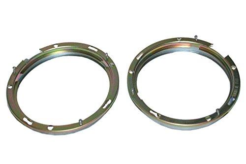 (RS Vintage Parts RSV-B00ZLQVG6K-00076 Pair Headlight Retaining Holding Inner Bezel Rim Trim 7