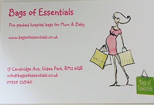 Lujo Miss Lulu hule Bags of hospital/maternidad/bolso cambiador para mamá y bebé (morado, diseño de lunares, se limpia con un paño húmedo) - Entrega GRATIS ...