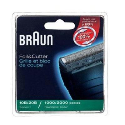 Braun Replacement Foil and Block, 1000 2000 For Free Control and Cruzer Shavers (Packaging may vary) ()