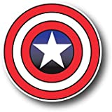 "6""Captain America logo Decal Sticker for case car laptop phone bumper"