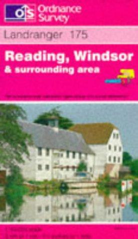 Reading, Windsor and Surrounding Area (Landranger Maps)